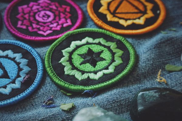 Chakra Patches: Complete Set of 7