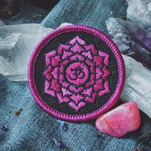 Crown Chakra Patch (Sahasrara)