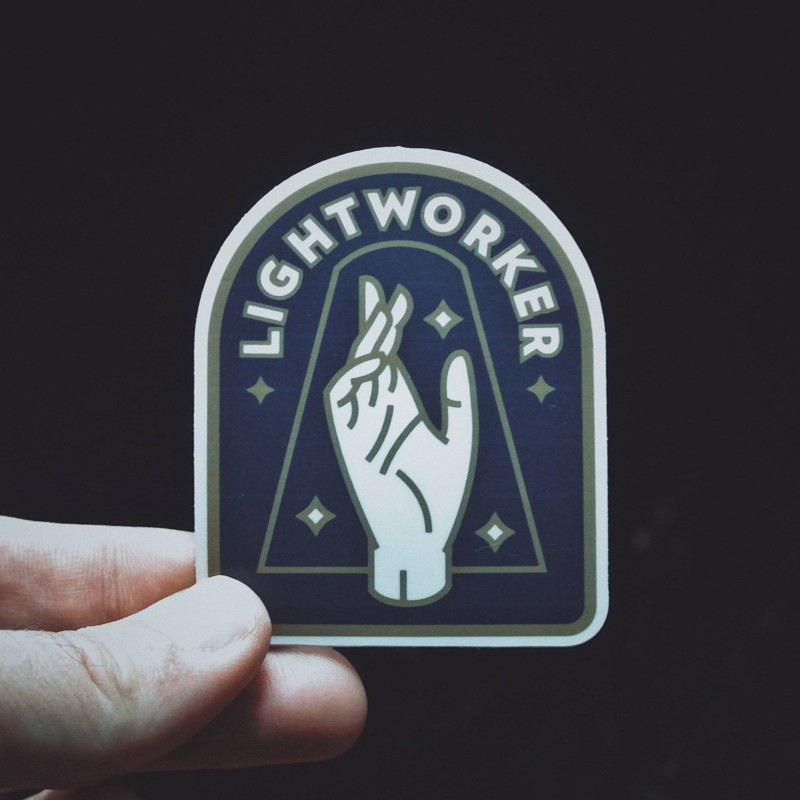 Lightworker Sticker