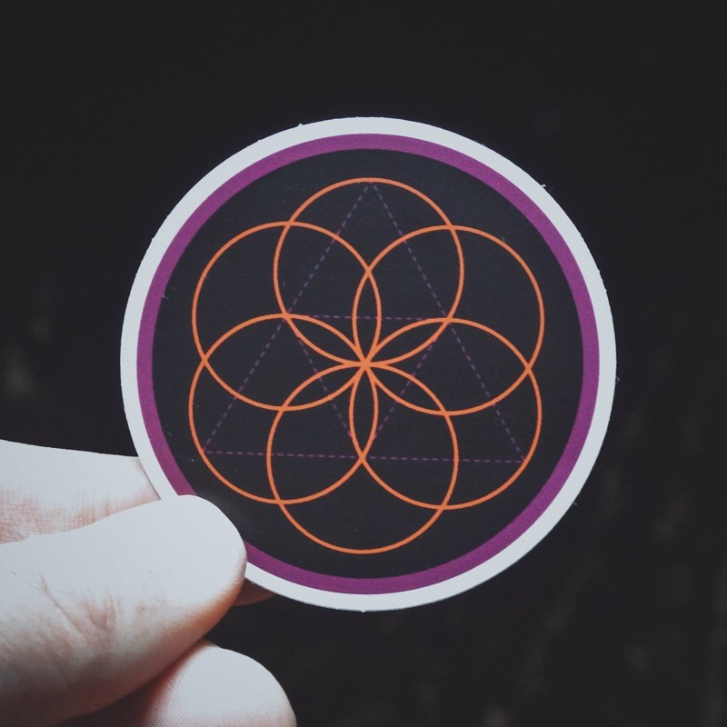 Seed of Life Sticker