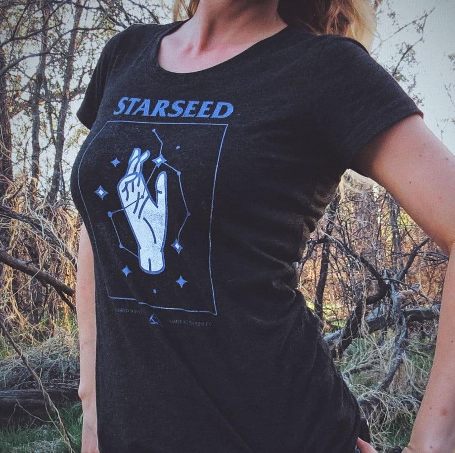 Starseed Constellation T-Shirt (women's)
