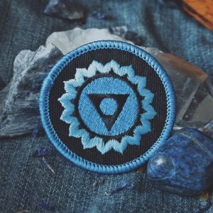 Throat Chakra Patch (Vishuddha)