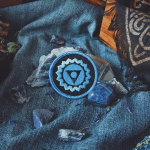 Throat Chakra Patch