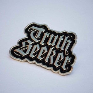 Truth Seeker Pin