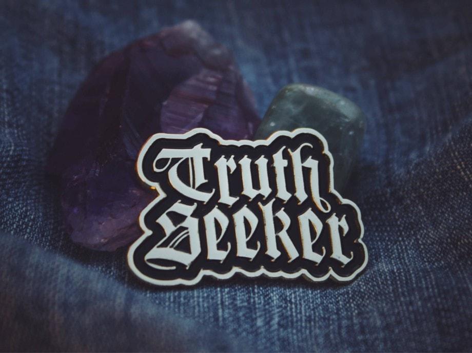 Truth Seeker Pin