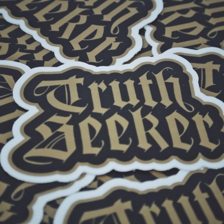 Truth Seeker Sticker